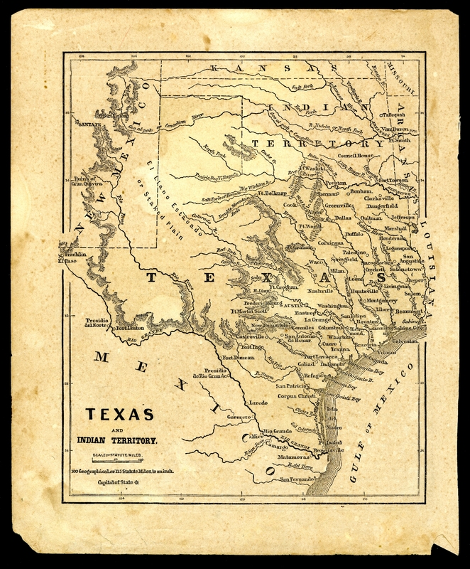 [Map of Texas]