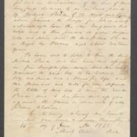 [Bill of sale for a slave boy named Owens]