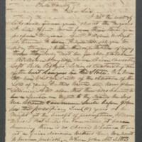 [Letter from J.C. Spence to William Reed]